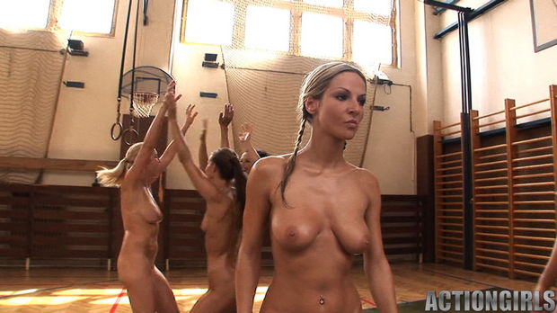 Nude basketball