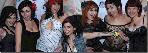 Joanna Angel at a Porn Convention
