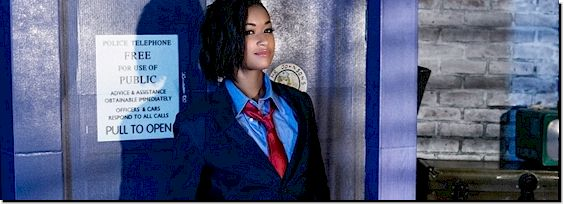 Skin Diamond as Dr Who