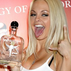 Jesse Jane promoting Tequila
