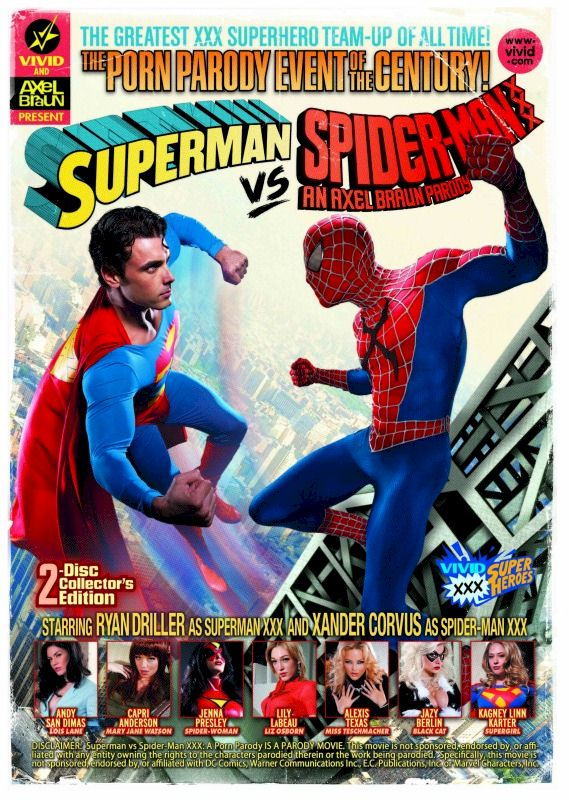 Superman Vs Spider-Man XXX